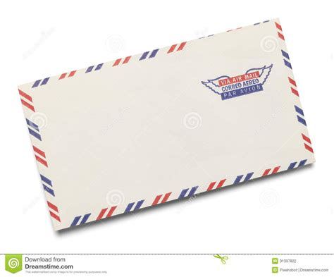 Letter Mail air mail stock photo image of equipment ephemera