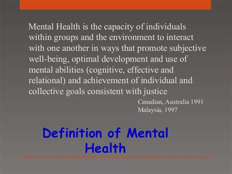 mental health service community mental health services in malaysia