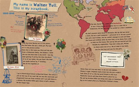 walter tulls scrapbook pop up hub books walter tull s scrapbook