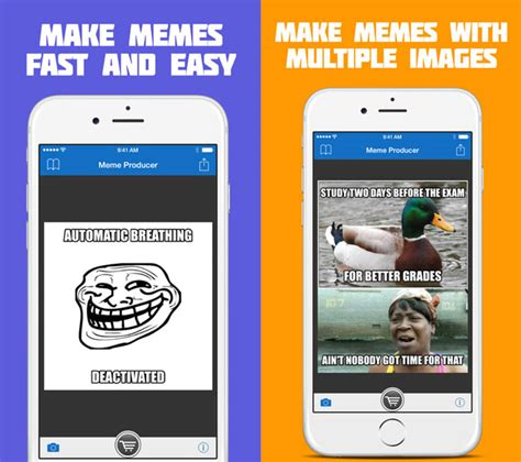 Best App To Make Memes - top 5 meme generator apps for iphone ios