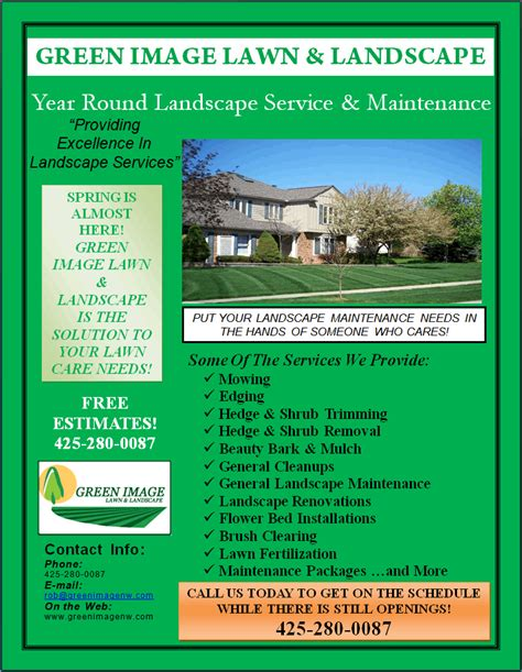 marvelous lawn care flyer template 8 lawn care business