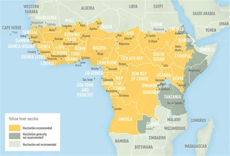 w x maps africa africa map yellow fever cdc