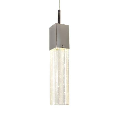 Rectangular Shade Pendant Light Fizz Iii Polished Chrome Led Multi Light Pendant With Rectangle Shade E22769 89pc