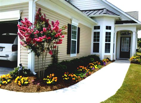 Landscaping Ideas For Front Yard On A Budget Simple Front Yard Landscaping On A Budget The Garden Inspirations