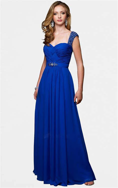 dress design royal blue stylish sleevles royal blue dress collection