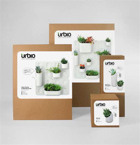 Urbio Vertical Garden Urbio Vertical Garden The Dieline Packaging Branding
