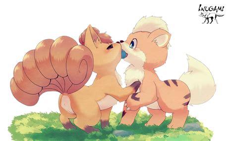 Render Goupix Caninos Pokemon Vulpix Rokon Growlithe