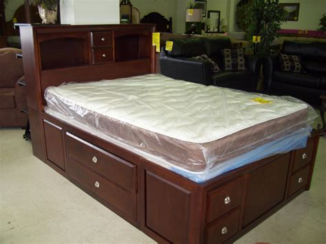 queen captain bed queen captains bed with storage interesting double bed