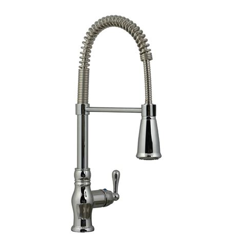 kitchen faucet with pull down sprayer ultra faucets prime collection single handle pull down
