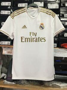 adidas real madrid home jersey  white  gold
