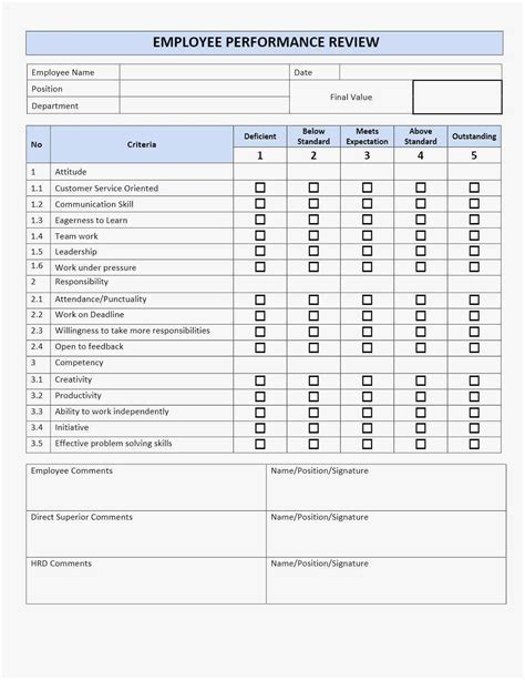 Employee Performance Review Template Excel Unique Spreadsheet Fill Employee Time Tracking Performance Template Excel