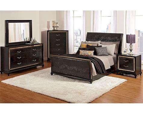 najarian bedroom set w upholstered bed ibiza na ib3set