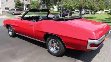 1972 pontiac convertible for sale 1972 pontiac lemans sport convertible for sale a c power