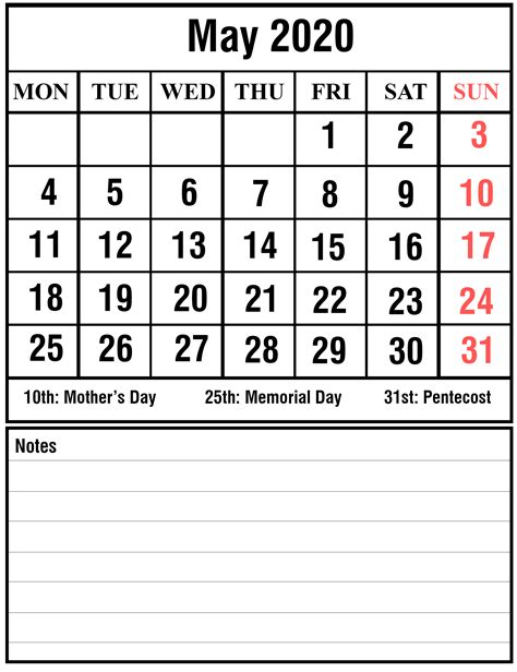 printable   calendar  excel word printable april calendar template