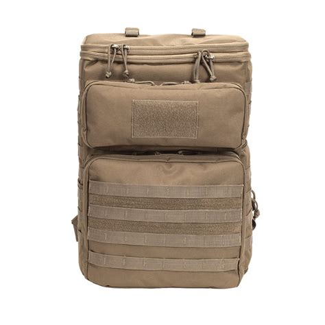 backpack with molle webbing voodoo tactical 20 0930 2 tier backpack with molle webbing great for cameras ebay