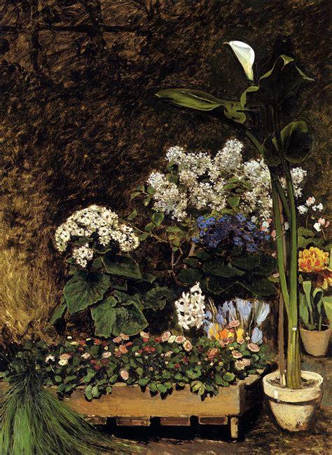 fiori di das fiori di primavera august renoir il giardino