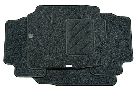 4x nissan genuine car floor mats tailored textile front