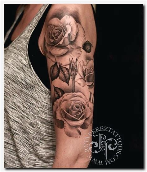 rose tattoo with writing rosetattoo hree sparrows mens tribal