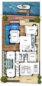 Home Designs Floor Plans 25 Best Ideas About Beach House Plans On Pinterest