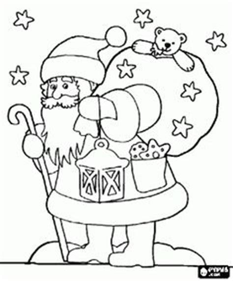 vintage santa coloring page santa images vintage cards on pinterest vintage santas