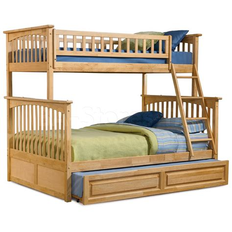 trundle bunk bed 1115 30 columbia bunk bed raised panel