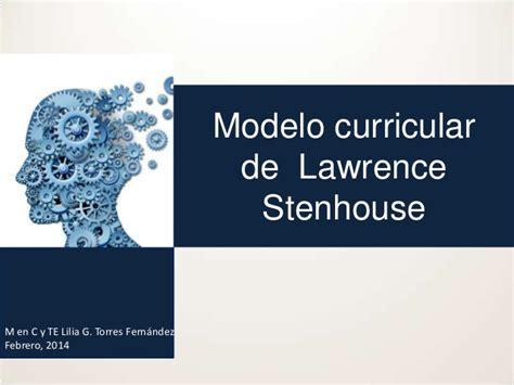 Modelo Curricular Stenhouse modelo curricular de stenhouse 7