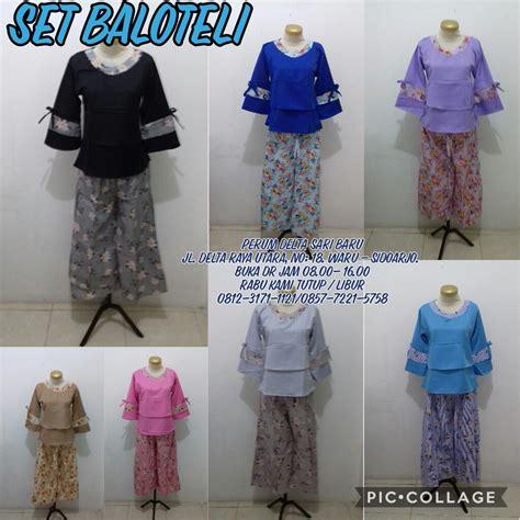 Pakaian Baju Atasan Wanita Cecilia Top Balotelly Busana Muslim kulakan setelan balotelli wanita dewasa modis murah 59ribu