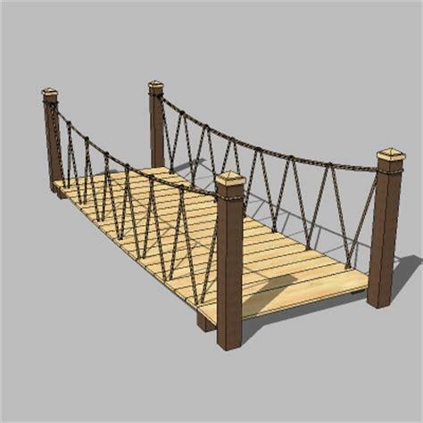 Rope Bridge 3D Model FormFonts 3D Models & Textures