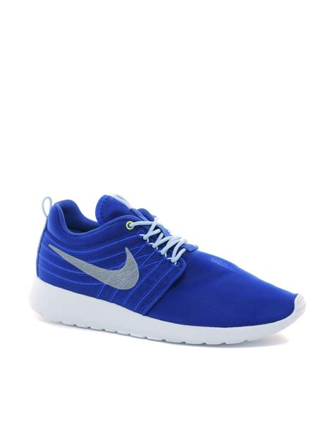 Nike Fly Wire Run nike roshe run dynamic flywire trainers in blue for lyst