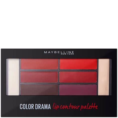 Dijamin Countour Palette 4 Colours No 2 maybelline color drama lip contour palette 4g crimson