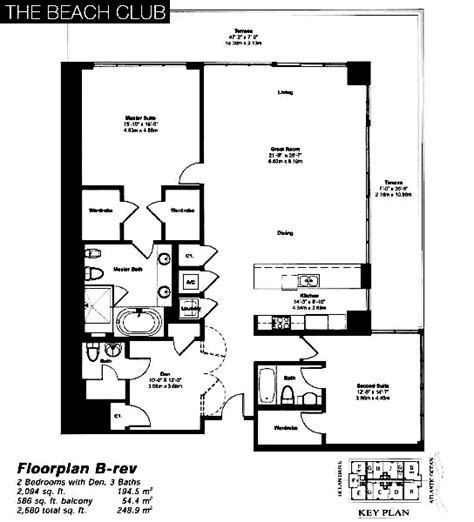 beach club hallandale floor plans the beach club tower ii hallandale beach condos for sale