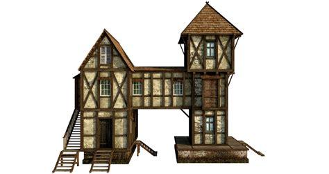 sketchup layout transparent medieval house 1 png by fumar porros on deviantart