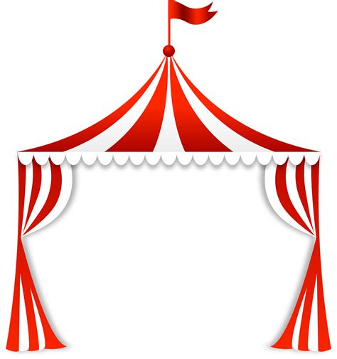 Circus Tent Template Card by Molduras Em Png Tema Circo Svg File Clip And Decoupage