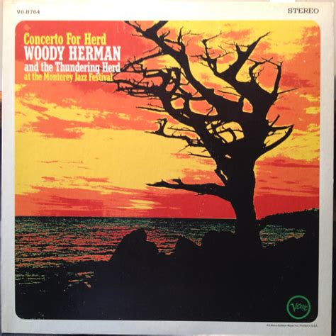 Piringan Hitam Vinyl Woody Herman The Herd Jazz Hoot woody herman concerto for herd lp vg v6 8764 stereo monterey jazz festival 1967 ebay