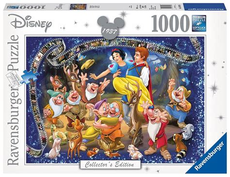 jigsaw film equipment ravensburger 19674 disney snow white collectors edition