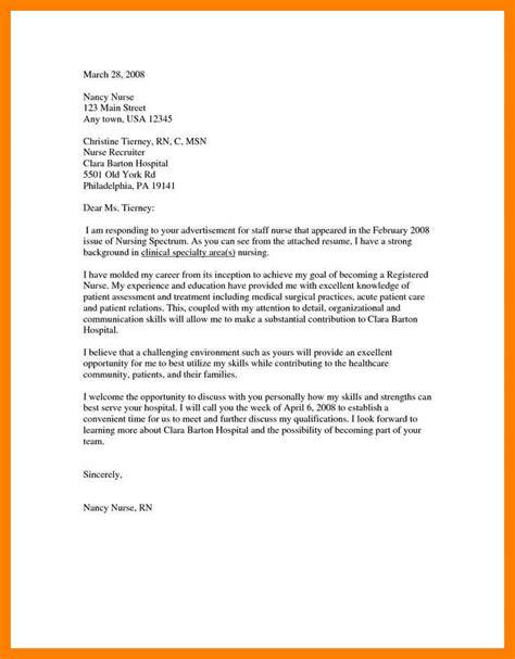 cover letter for nursing school application 6 application letter for nursing school admission time