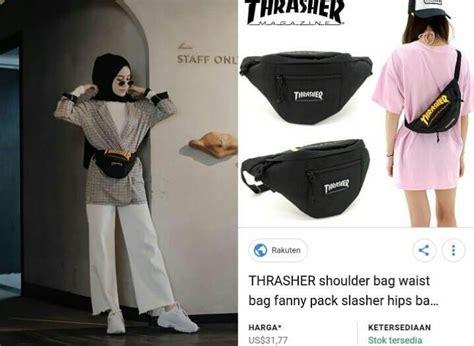 Tas Waist Bag Gucci Marmont Gucci Tas Pinggang Gg Code Gc 915 gaya tren kenakan waist bag harganya bikin geleng geleng