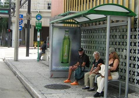 shelter miami solar powered shelters turn outdoor ads green outsource marketing