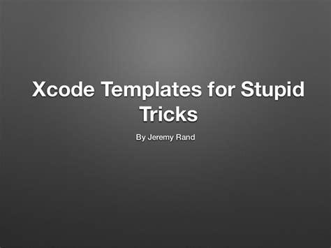 xcode templates xcode templates