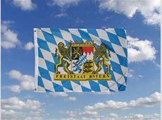 Freistaat Bayern Fahne Flagge 60 x 90 cm - Fahnen und ... Flaggen Der Welt