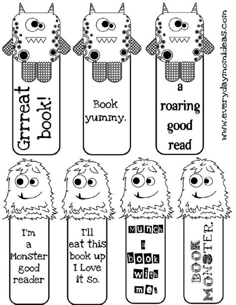 bookmarks to color free coloring pages of bookmark children