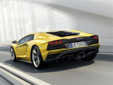 Der Neue Lamborghini by Der Neue Lamborghini Aventador S Auto Motor At