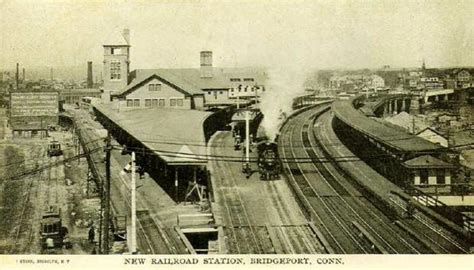 new railroad station bridgeport connecticut 1900s 1910s