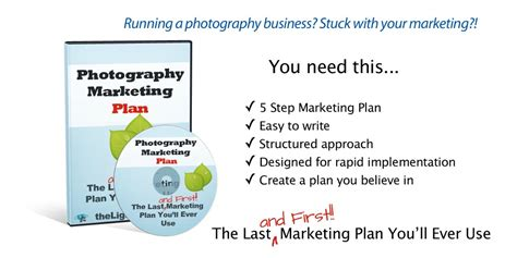 photography marketing plan template last and marketing plan you ll use