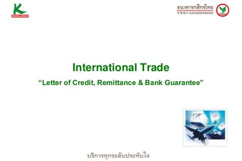 Kasikorn Bank Letter Of Credit myanmar investment climate oct 2013 ธ กส กรไทย