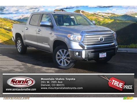 toyota tundra limited 2015 2015 toyota tundra limited crewmax 4x4 in silver sky