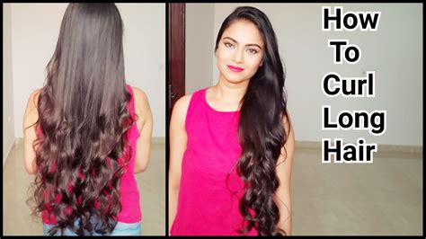 different hairstyles for long hair at home youtube how to curl long hair indian hairstyles how to get