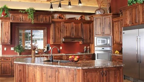 rustic walnut kitchen cabinets roselawnlutheran best 25 rustic hickory cabinets ideas on pinterest