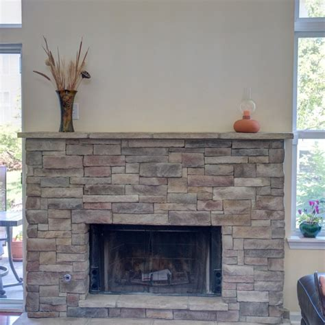 your new fireplace with or without mortar joints