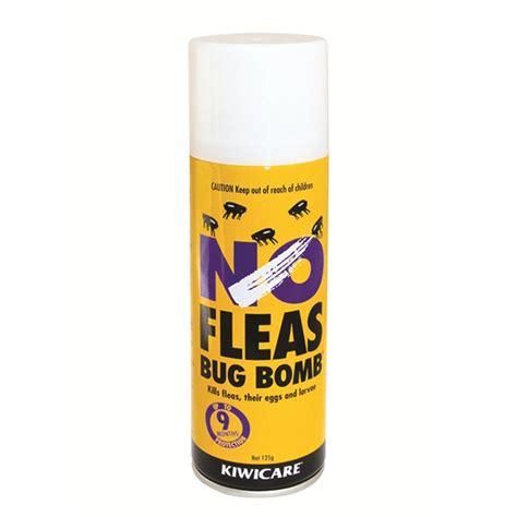 bomb for bed bugs kiwicare no fleas bug bomb 125g bunnings warehouse